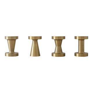Octans Candle Holders - Set of 4 For Sale