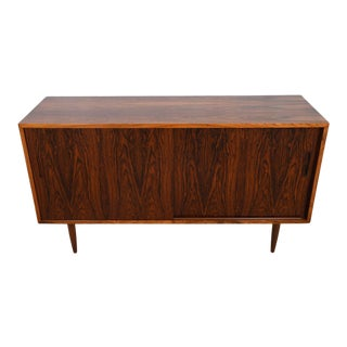 Danish Modern Rosewood Media Cabinet For Sale