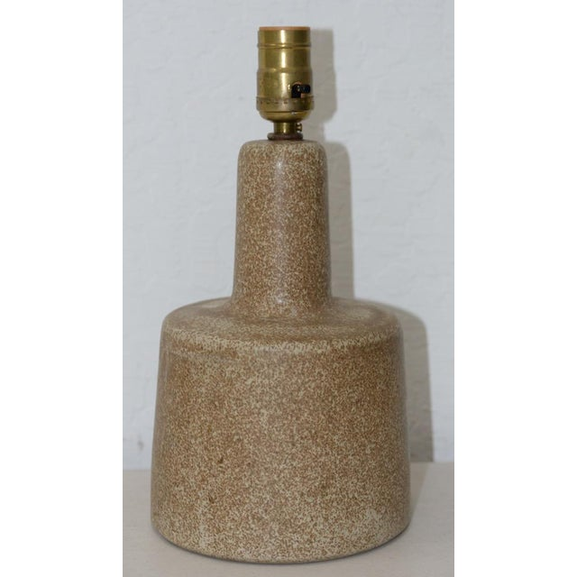 Jane & Gordon Martz Malted Glaze Table Lamp c.1960 - Image 4 of 4