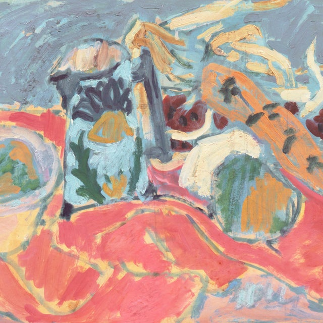 'Still Life' by Victor Di Gesu; 1955 Paris, Louvre, Académie Chaumière, California Post-Impressionist, Lacma For Sale In Monterey, CA - Image 6 of 10