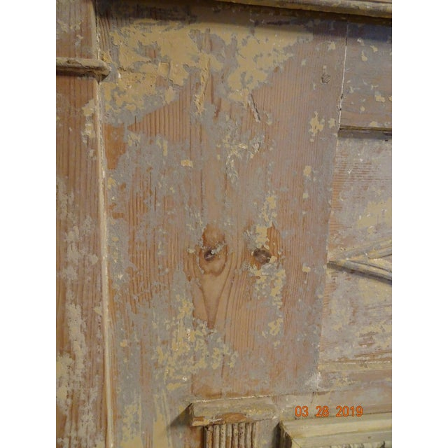 Blue 19th Century French Mirror For Sale - Image 8 of 12