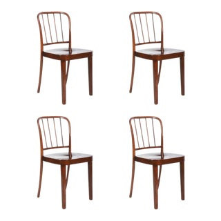 Dining Chairs by Josef Frank for Thonet, 1930s - Set of 4 For Sale