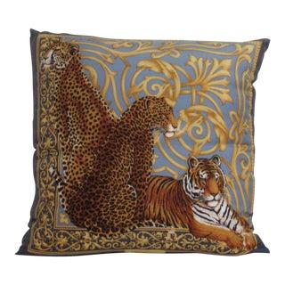 Salvatore Ferragamo Silk Pillow For Sale