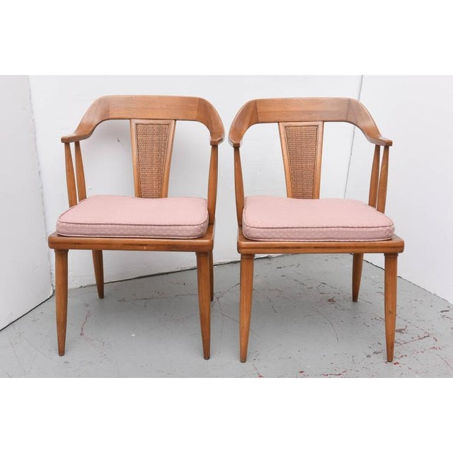Chairs are marked with original patent information on the bottom of each chair. Chairs are in very good original...