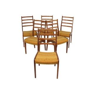 G Plan Teak Dining Chairs - Set of 6