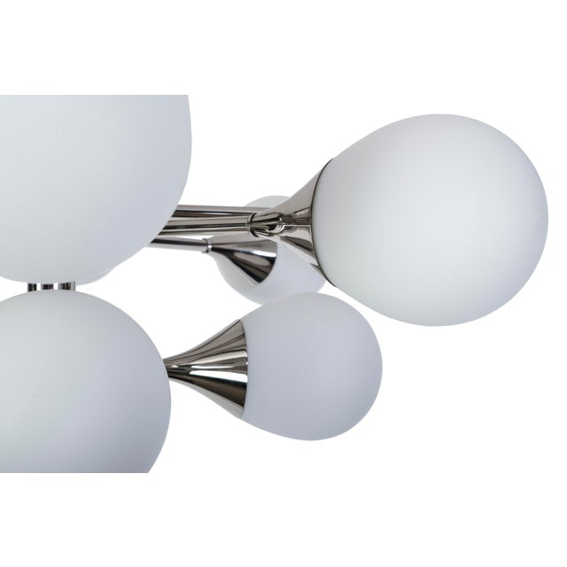 Exceptional Orbital Form Sputnik Chandelier - Image 4 of 6