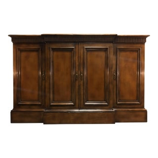 Baker Neoclassical Style Sideboard Credenza Media Console