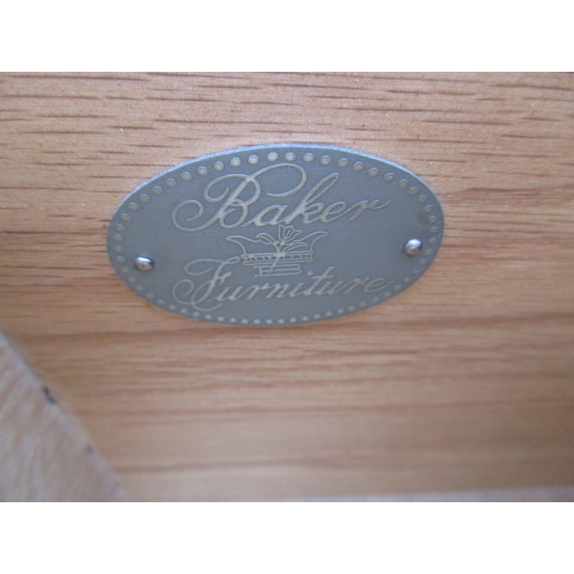 Baker Furniture Side-By-Side Double Chest of Drawers For Sale - Image 10 of 11
