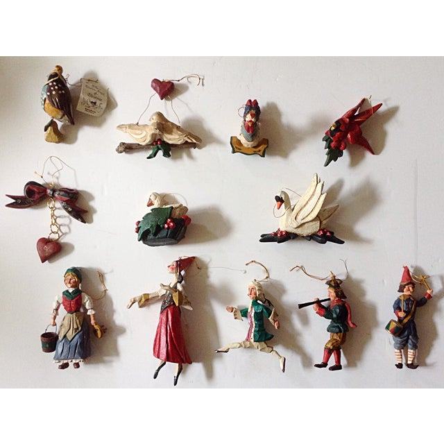 Hatten 12-Days of Christmas Ornament Set - Image 2 of 6