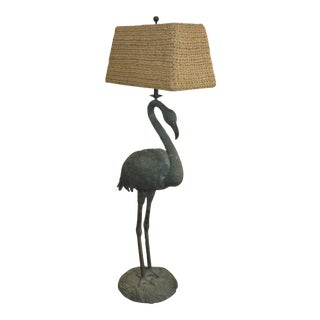 Maitland Smith Flamingo Floor Lamp For Sale