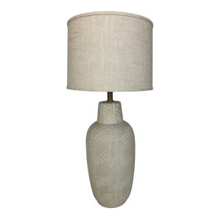 Mid Century Italian Ceramic Lamp by Bitossi For Sale