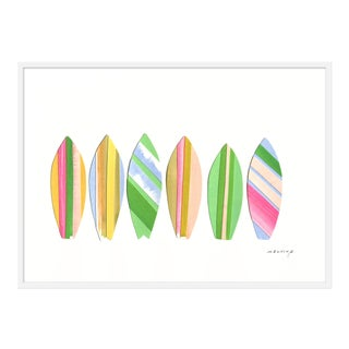 "Medium ""Tavola Da Surf Rosa"" Print by Melvin G., 46"" X 33"" For Sale"