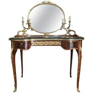 Late-19th Century François Linke Mounted Table De Toilette For Sale