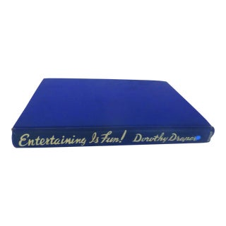 """""""Entertaining Is Fun!"""" Book by Dorothy Draper For Sale"""