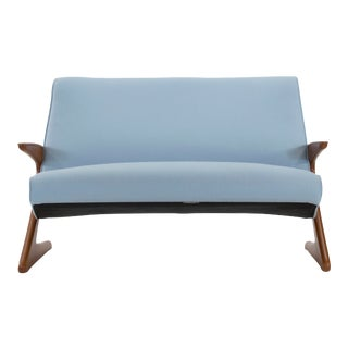 1950s Vintage Bengt Ruda Z Loveseat For Sale