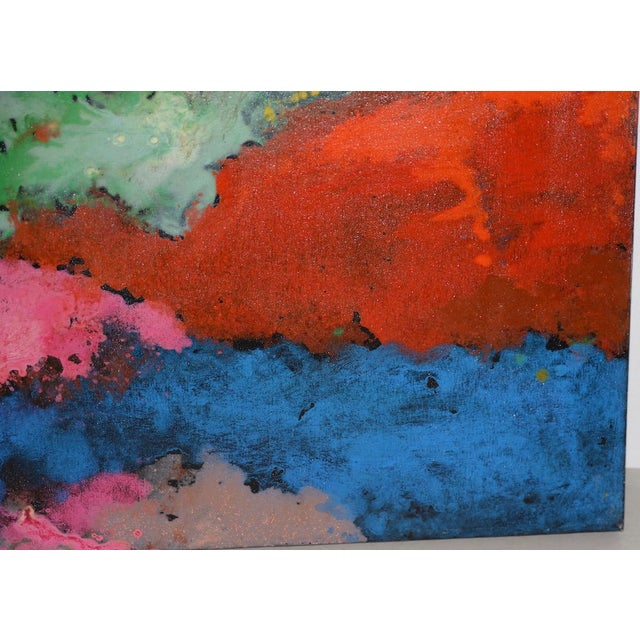 Early 21st Century 21st C. Modernist Abstract Oil Painting by Manor Shadian (B.1931 Iran / California) For Sale - Image 5 of 12