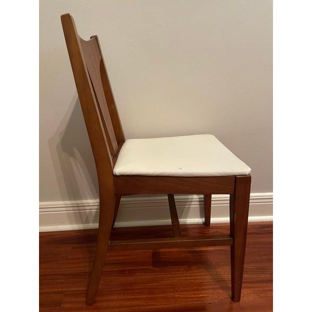 Mid-Century Modern Mid Century Johnson Carper Walnut Desk Chair For Sale - Image 3 of 8