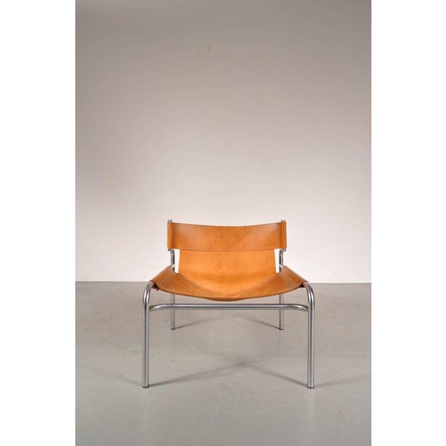 """Lounge Chair """"sz12"""" by Walter Antonis for Spectrum, Netherlands, circa 1970 - Image 3 of 9"""