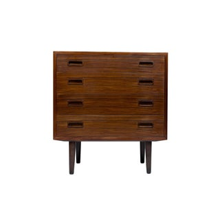 Danish Modern Rosewood Small Chest, Sideboard, For Sale