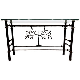 Giacometti Style Console Table For Sale