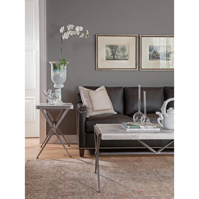 Gemstone Artistca Home Greta Rectangular Cocktail Table For Sale - Image 7 of 10