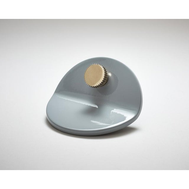 Modern Nest Studio Collection Geo-C-01 Grey Pull For Sale - Image 3 of 3