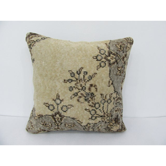 Turkish Unique Vintage Handmade Pillow Cover For Sale - Image 4 of 4