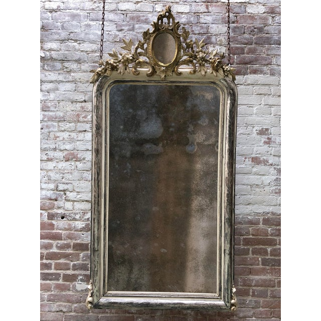 Mid 19th Century 19th Century Mirror For Sale - Image 5 of 6