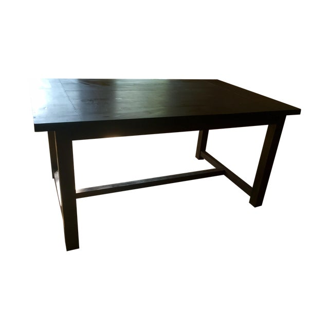 Crate and Barrel Dining Table - Image 1 of 4