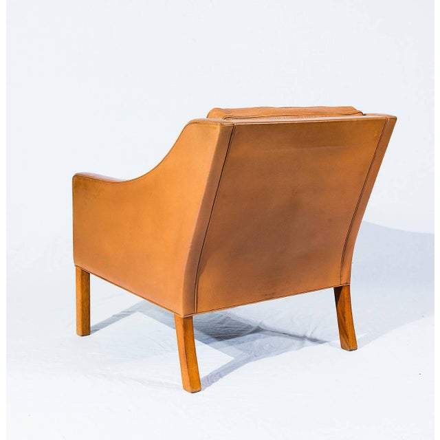 Børge Mogensen Model No. 2207 Leather Lounge Chair - Image 4 of 9