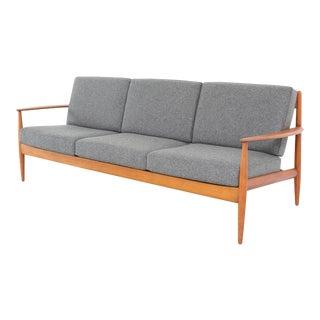 Modern Grete Jalk Danish Sofa by France and Daverkosen Freshly Reupholstered For Sale