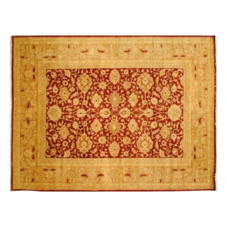 Stark Studio Rugs Traditional New Oriental 100% Wool Rug - 9′ × 11′9″ For Sale