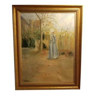Mid-Century French Impressionism Study Paintin For Sale
