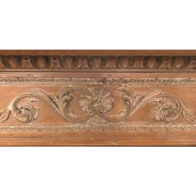 Wood In Grinling Manner 19th Mantel Century English Antique Gibbons Carving Of Carved With The fbmg7vIY6y