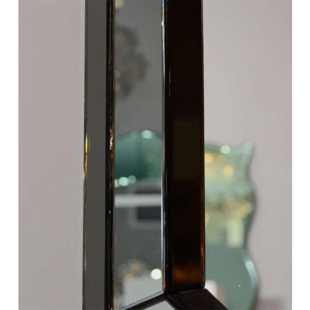 Venfield Custom Smoked Glass Mirror For Sale - Image 4 of 8