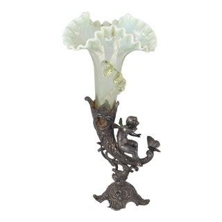 Art Nouveau Solitaire Vase, Germany 1910s For Sale
