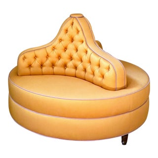 Custom Settee Conversation Sofa For Sale
