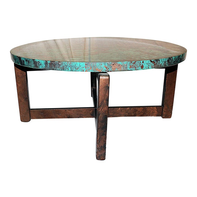 1980s Robert Cohen Faux Finished End Tables (2 Available) For Sale