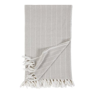 Henley Throw in Oat For Sale