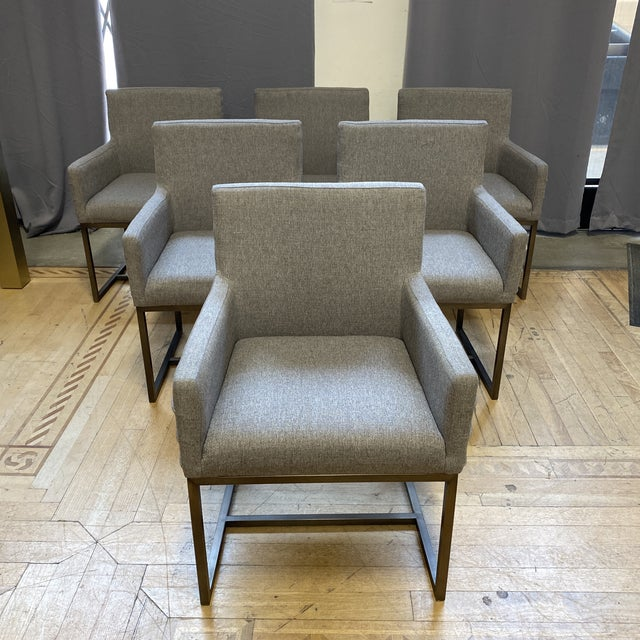 Universal Furniture Cooper Chairs - Set of Six For Sale - Image 13 of 13