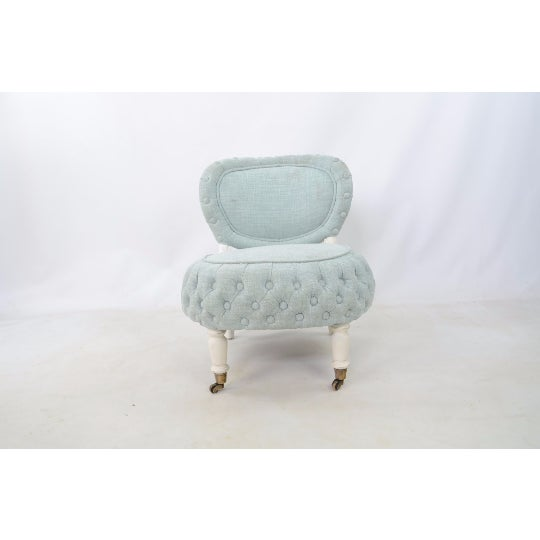 Victorian-Style Boudoir Chair - Image 2 of 4