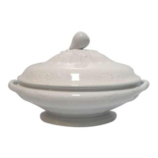Early Ironstone English Jacof Furnival Vegetable Tureen For Sale
