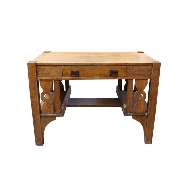 Gorgeous Mission Writing Desk - Image 4 of 4