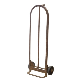 Early 20th C. Industrial Hand Truck C.1940 For Sale