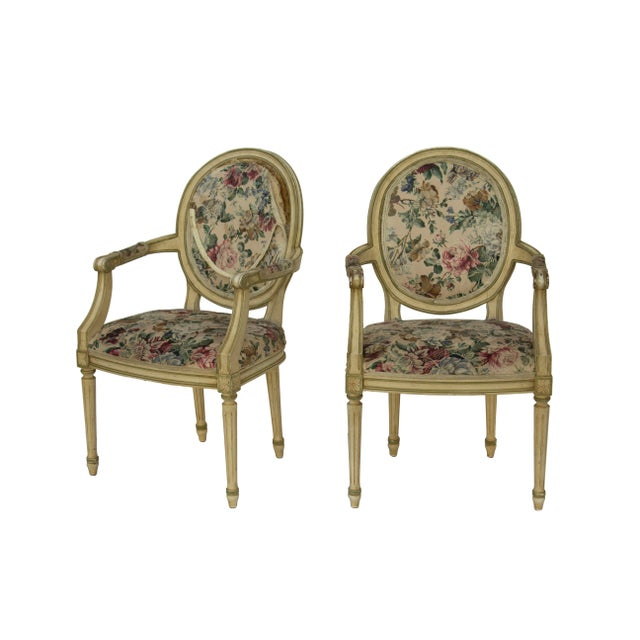 Kindel Louis XVI Style Dining Chairs- Set of 6 - Image 4 of 10