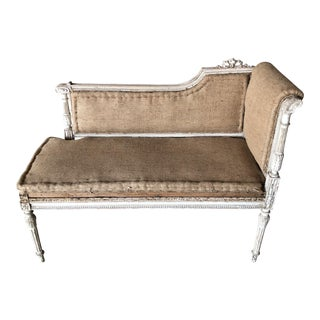 18th C. French Chaise For Sale