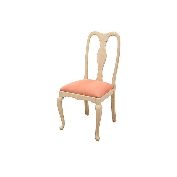 Queen Anne Blush Dining Chairs - Set of 6 - Image 2 of 7