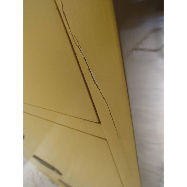 Vintage Modern Campaign Style Chest of Drawers - Image 5 of 6