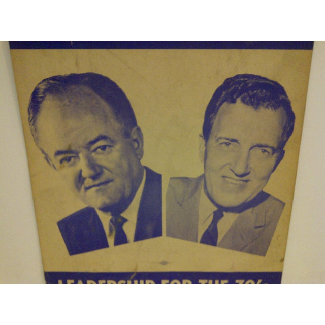 Vintage Presidential Campaign Poster, 1968 For Sale - Image 5 of 6