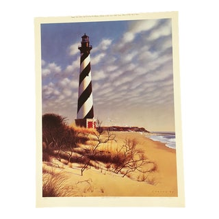 "Howard Koslow ""Cape Hatteras"" North Carolina Print For Sale"